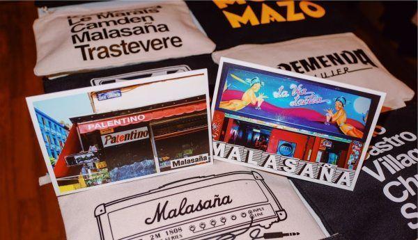 SOUVENIRS de Madrid amor de barrio malasaña