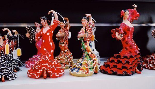 flamencas recuerdos de españa