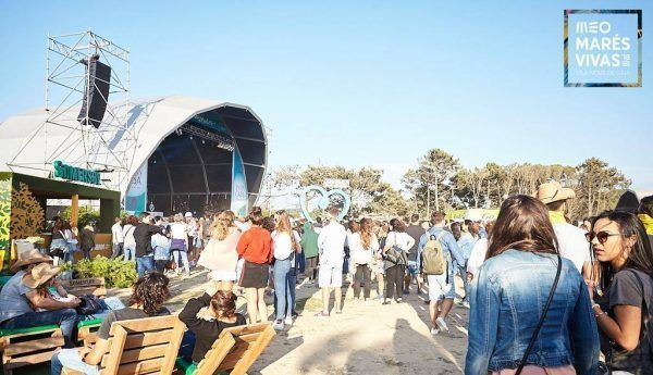 festivales de música Oporto MEO Marés Vivas
