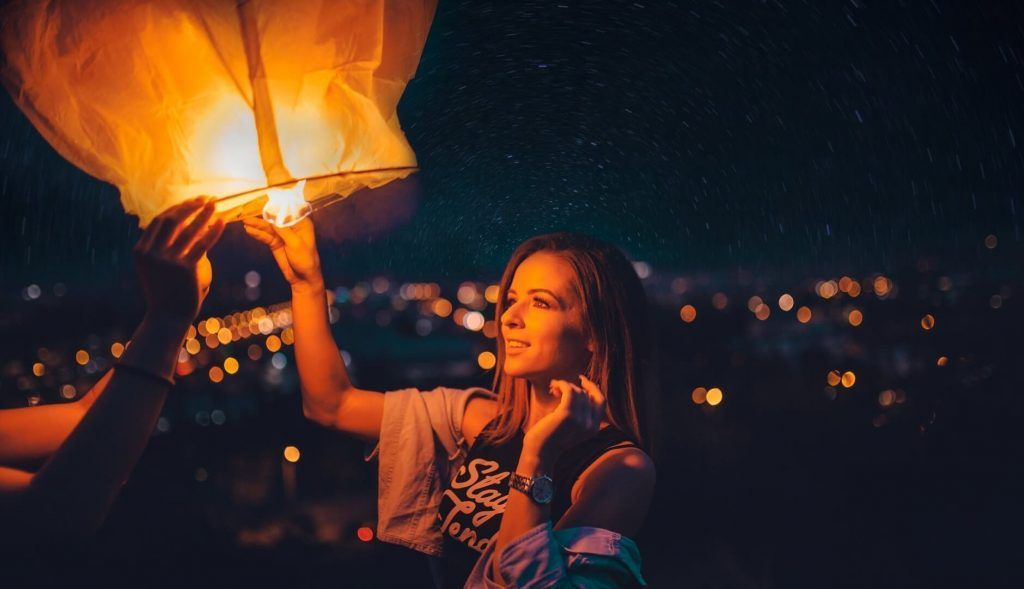Lanterns festival of sao joao porto