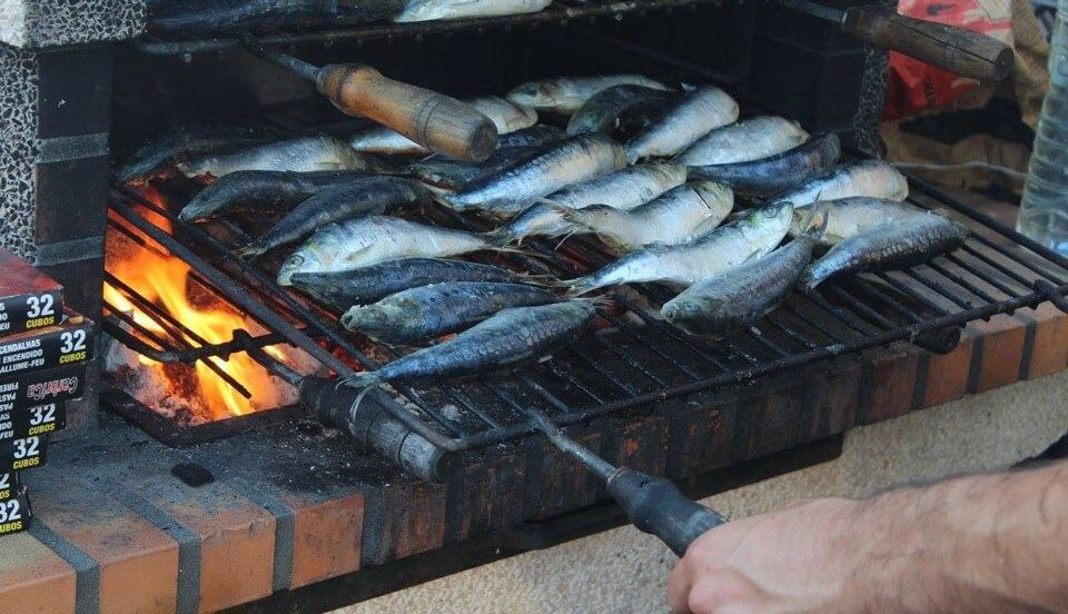 Sardines Barbacue