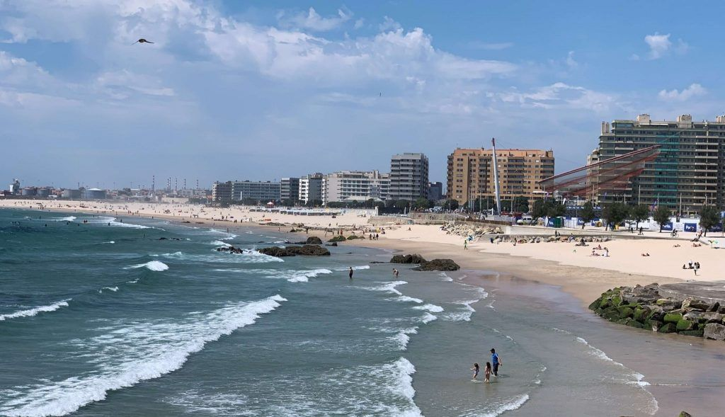playas de Oporto Matosinhos beach
