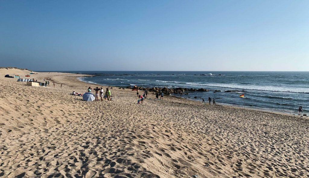 playas cerca de oporto Praia da madalena (Gaia)