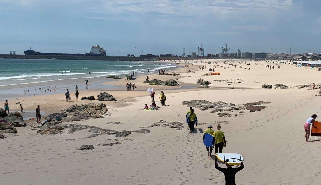 Matosinhos playas cerca de oporto