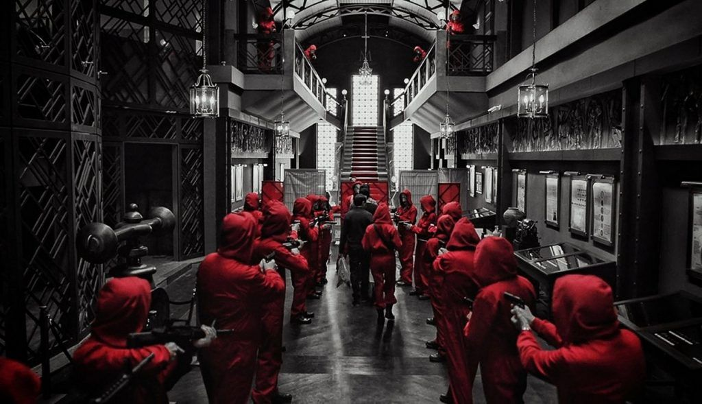 money heist location
