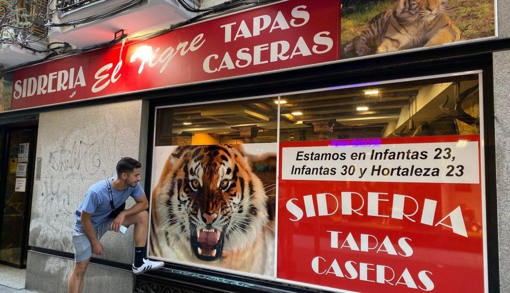 Cool Restaurants in Madrid el tigre