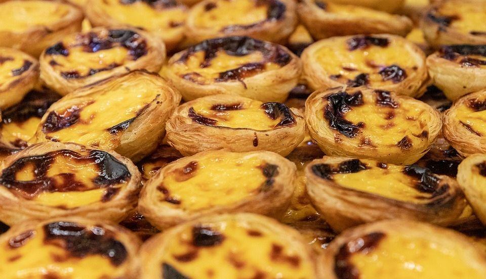 pateles de belem comida tradicional portuguesa