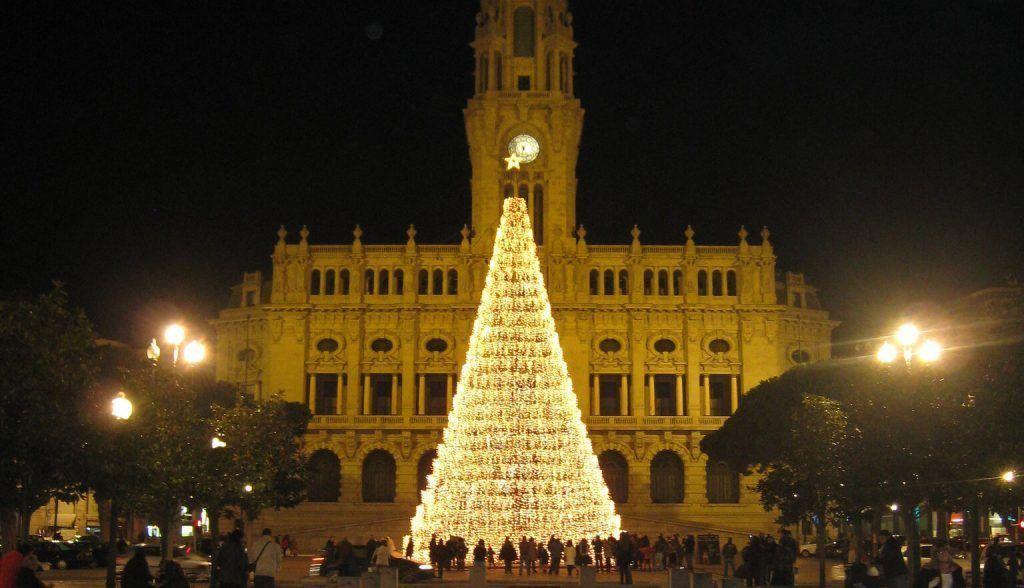 luces navidad oporto 2019